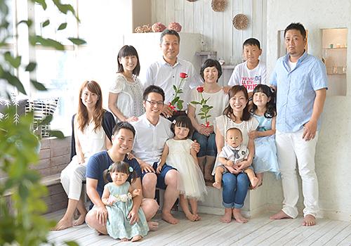 家族写真 | スタジオオレンジ 奈...