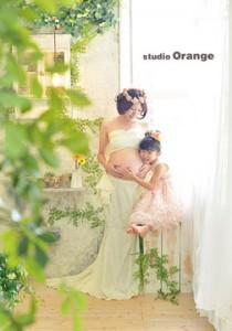 奈良市写真館 スタジオオレンジ マタニティフォト マタニティ