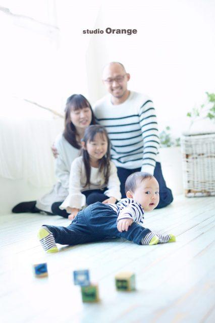 家族写真 奈良 スタジオオレンジ