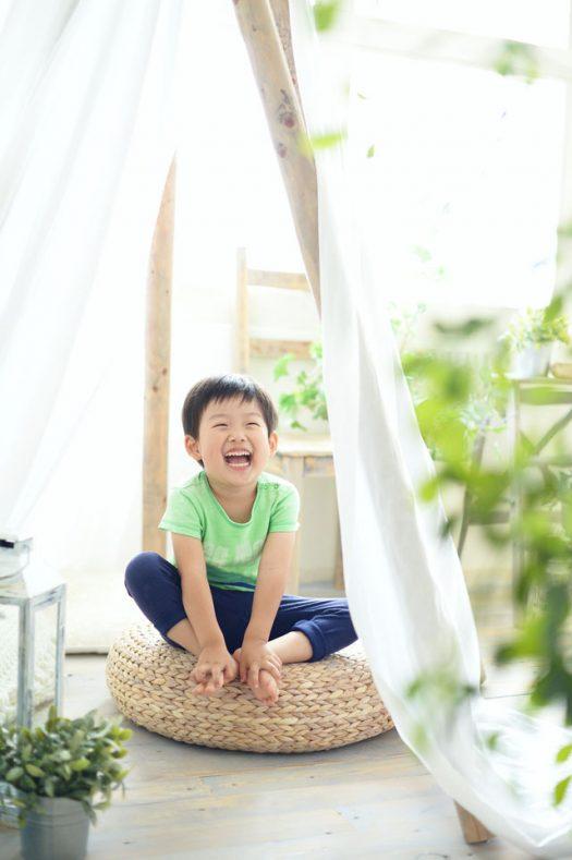 私服 お誕生日撮影 4歳 男の子