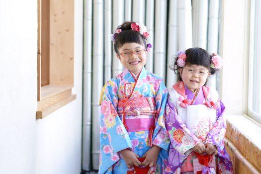 7歳女の子 3歳女の子 奈良市 七五三
