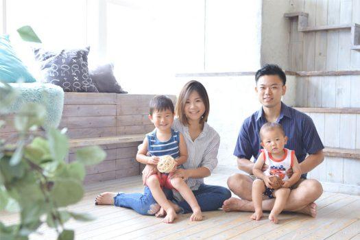 お誕生日撮影 バースデー 家族写真 奈良市