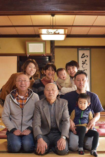 家族写真 我が家 実家 広島県