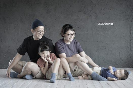埼玉 奈良 家族写真 私服