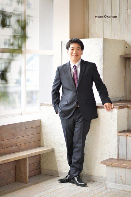 男性成人 成人式 奈良市 スーツ