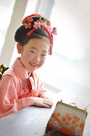 7歳女の子 七五三 日本髪