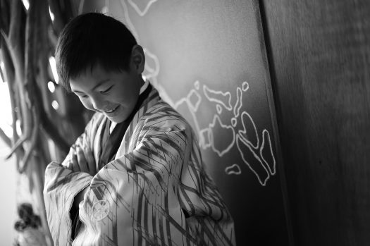 奈良市 生駒市 帝塚山 富雄 木津川市 精華町 スタジオレンジ 十歳記念 着物 和装 袴 男の子