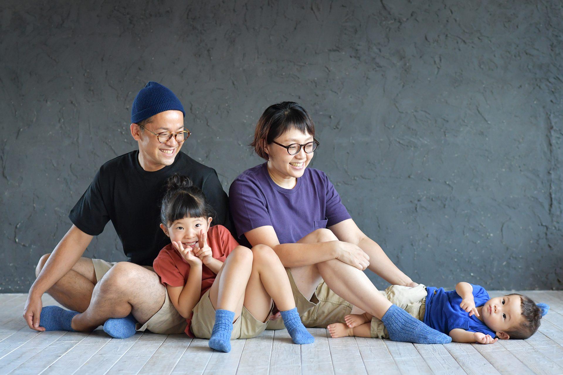 私服 家族撮影 七五三