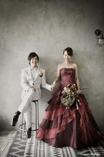 ドレス婚 フォトウェディング ウェディングフォト カラードレス