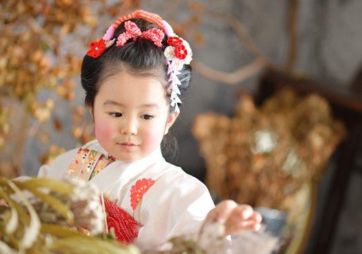 七五三 奈良市 日本髪 3歳女の子