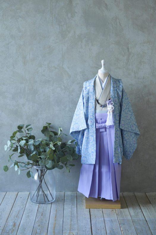 5歳男の子 羽織袴 スタジオ衣装