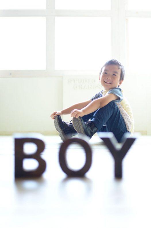 男の子 お誕生日撮影 かっこいい 私服