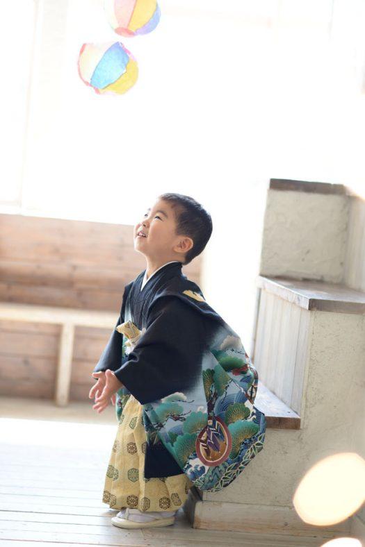 3歳男の子 七五三 和装 着物