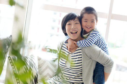 お母さんといっしょ にこにこ 家族写真