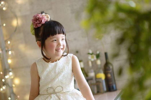 白いドレス バースデー 女の子