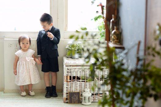 兄弟撮影 ドレス