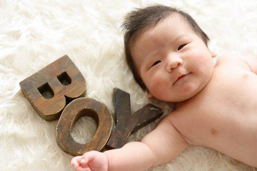BOY 赤ちゃん はだかんぼ