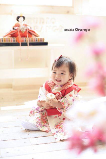 桃の節句 女の子 1歳
