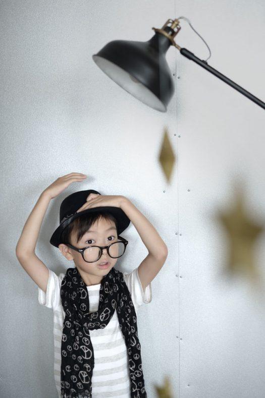 お誕生日撮影 メガネ