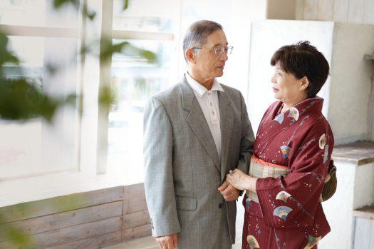 古稀のお祝い 70歳 夫婦 撮影