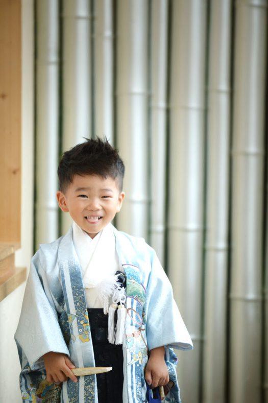 奈良市 七五三 3歳男の子