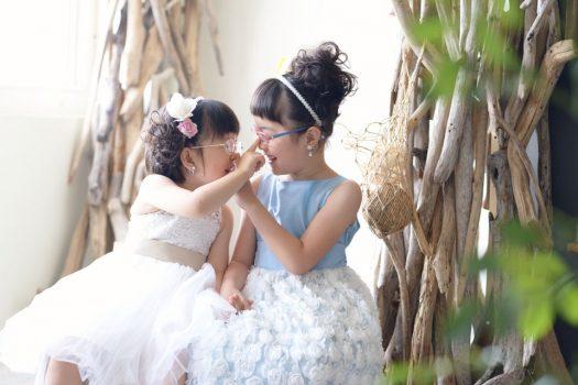 姉妹撮影 奈良 ドレス