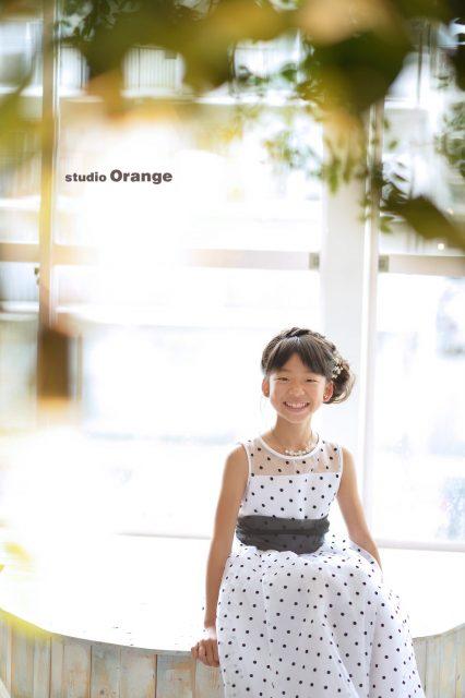 11歳お誕生日撮影 ドレス 奈良市 スタジオオレンジ