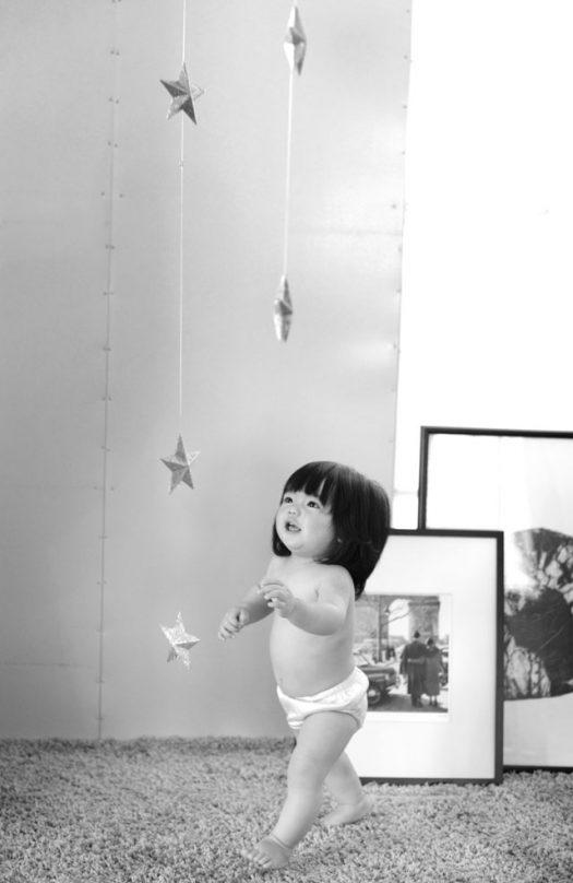 奈良市 はだかんぼ 1歳女の子