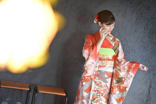奈良市 成人 前撮り 着物