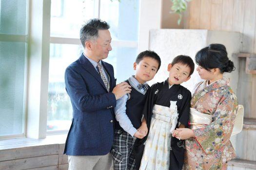 奈良 七五三 家族撮影 前撮り