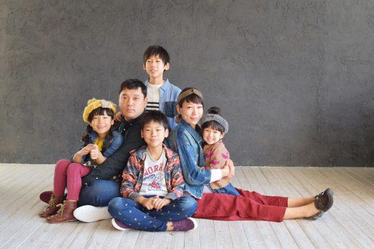 家族撮影 奈良市 カジュアル