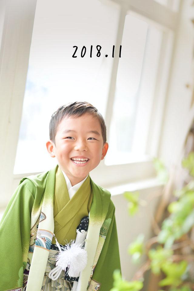 七五三 スタジオオレンジ 奈良 フォトスタジオ