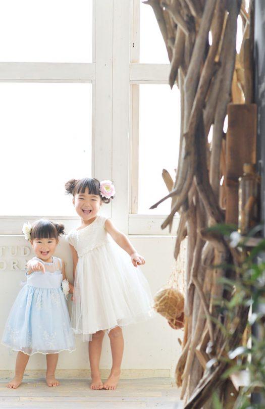 ドレス 姉妹 奈良市 スタジオ