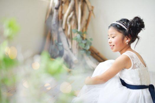 お誕生日撮影 奈良市 ドレス