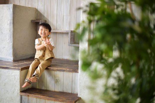 お誕生日撮影 タキシード 奈良市