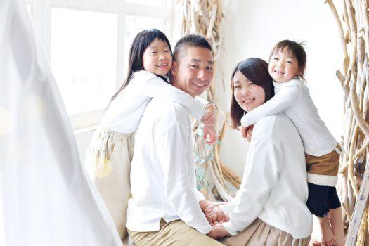 私服 家族撮影 奈良