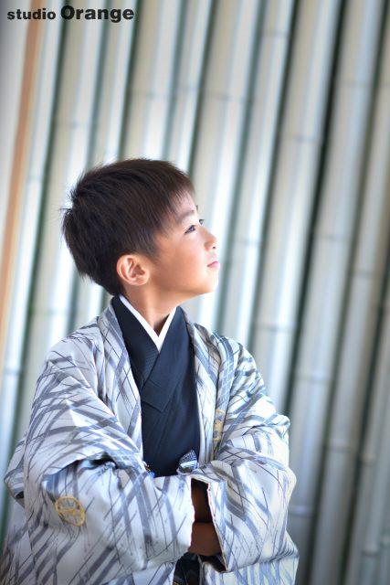 十歳記念 男児袴 着物 1/2成人
