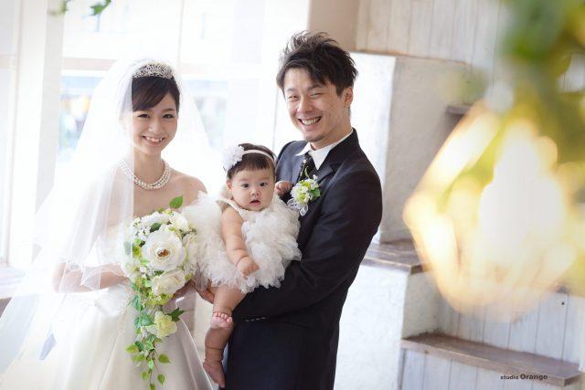 写真だけの結婚式 ママ婚 ウエディングフォト 婚礼写真 奈良市 スタジオオレンジ