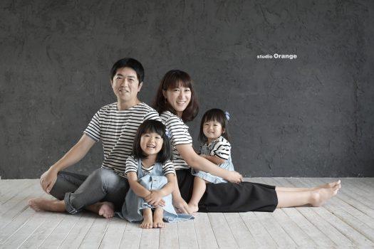 家族写真 女の子 お誕生日 バースデーフォト