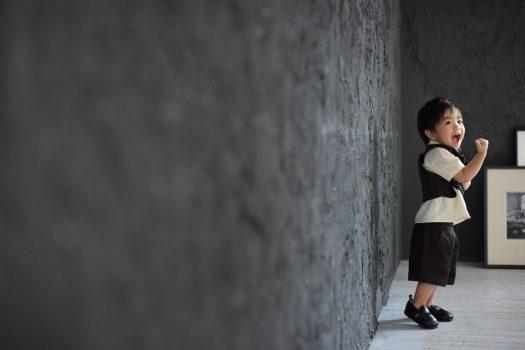 お誕生日撮影 奈良市 スタジオオレンジ 1歳男の子