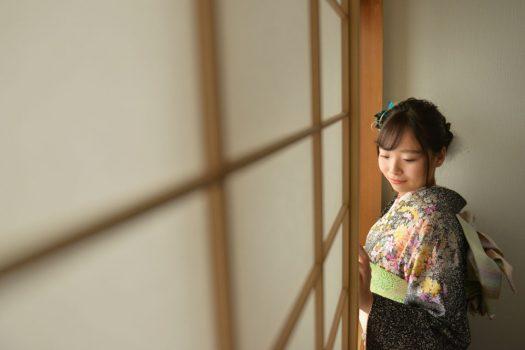 成人式当日撮影 1月14日 成人式 持ち込み着物 奈良市 スタジオオレンジ