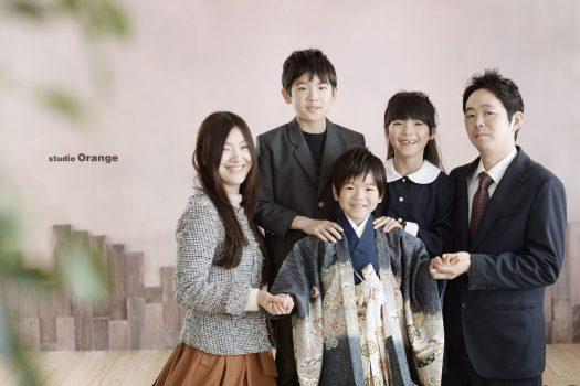 奈良市 写真館 家族写真 七五三 五歳