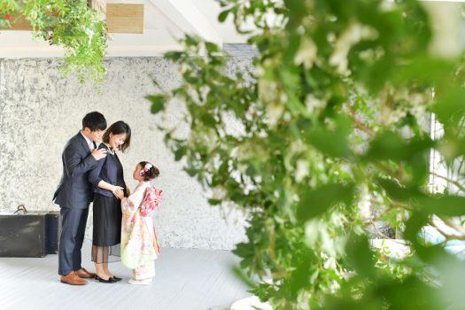 七五三 家族撮影 奈良市