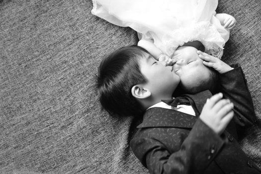 奈良市 生駒市 帝塚山 富雄 木津川市 精華町 スタジオレンジ お宮参り 兄弟撮影