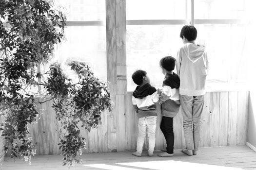 奈良市 生駒市 帝塚山 富雄 木津川市 精華町 登美ヶ丘 スタジオレンジ 写真館 フォトスタジオ 写真 兄弟写真