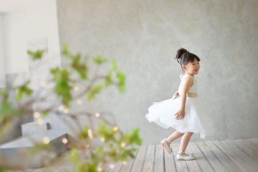 奈良市 生駒市 帝塚山 富雄 木津川市 精華町 スタジオレンジ ドレス ダンス 白いドレス