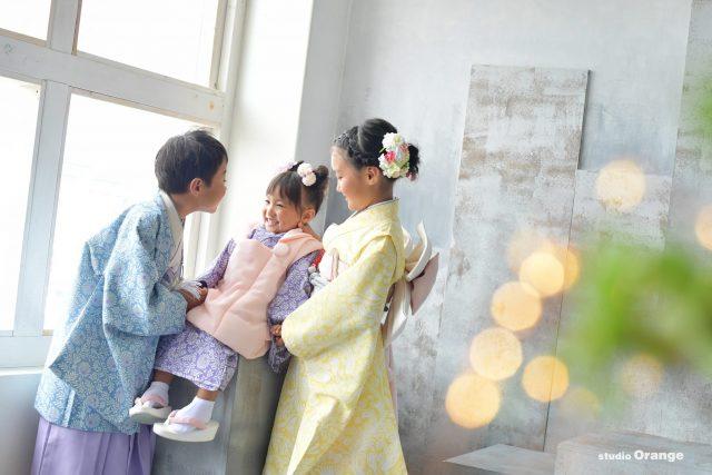七五三 3歳女の子 オリジナル着物