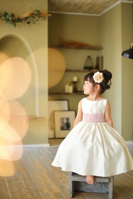 お誕生日 ドレス 白いドレス
