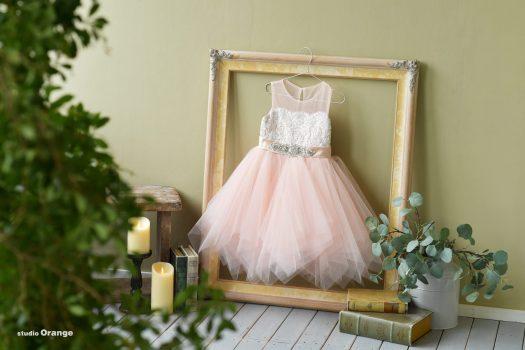 ドレス ピンク 女の子 ビジュー