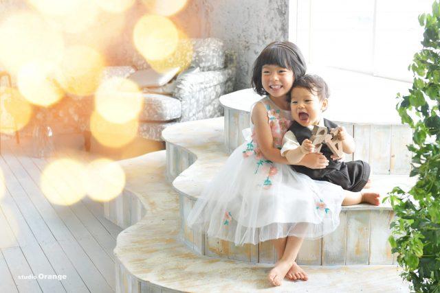 誕生日 バースデー ドレス タキシード 姉弟